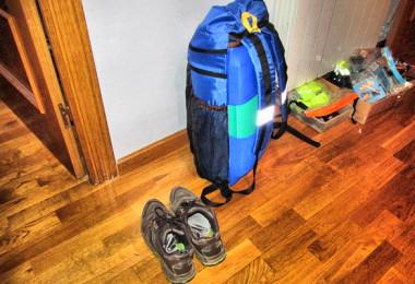 Vamos a hacer una mochila muy ligera. (1)