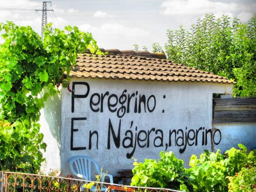 En el Camino en Nájera/todocaminosantiago.com