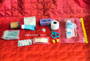 A first aid kit for the Camino de Santiago